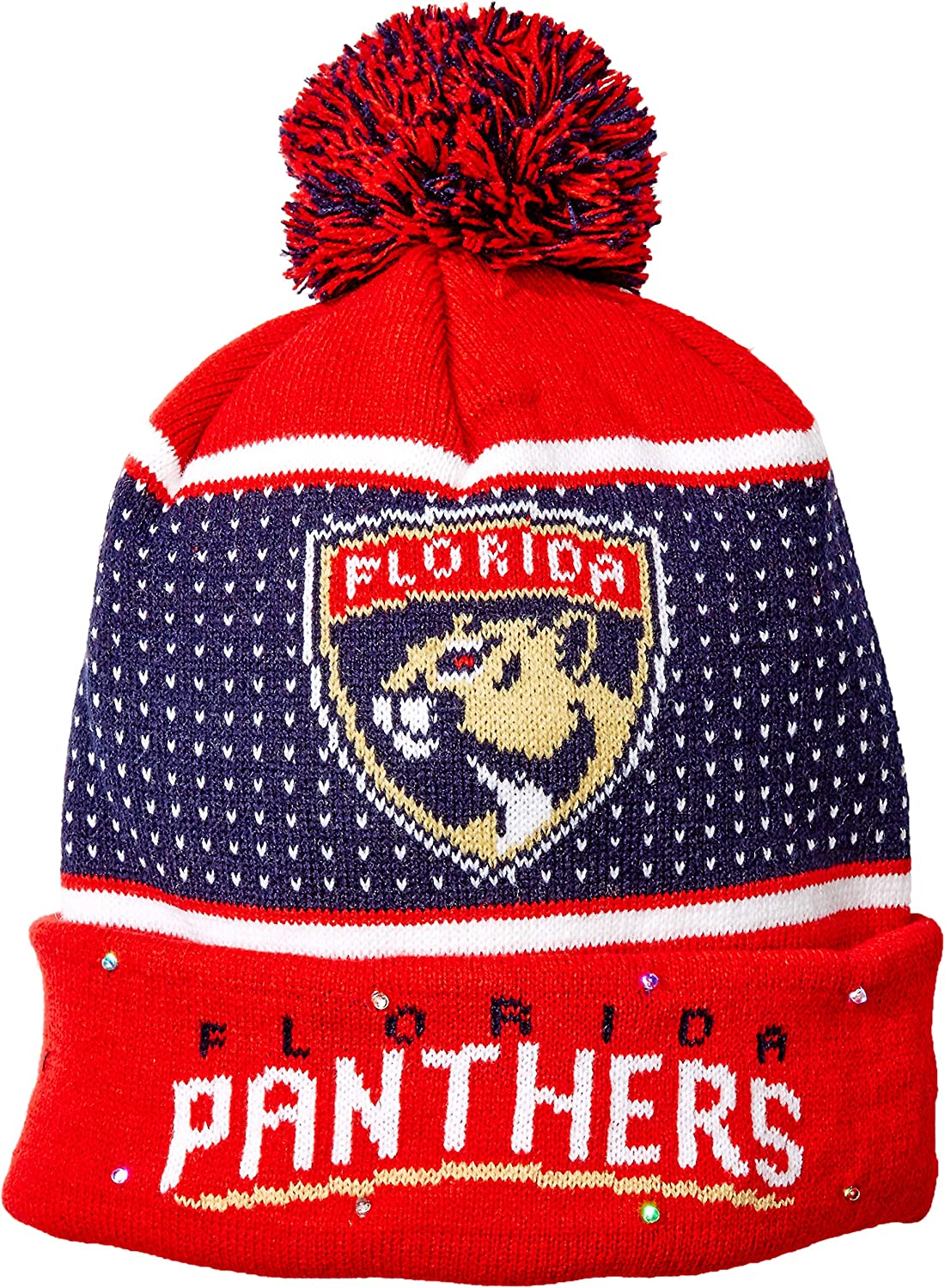 Max 48% OFF FOCO NHL Big Logo Knit Edition Cheap mail order specialty store 2018 Beenie Up Light