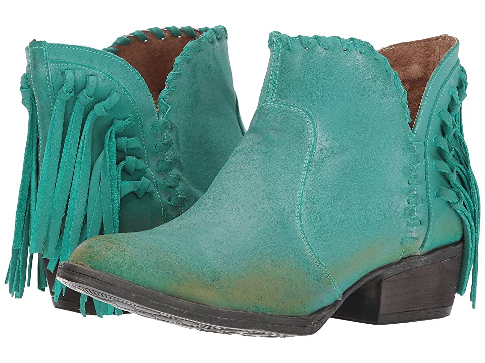 Corral Boots Q0005 (Turquoise) Cowboy Boots