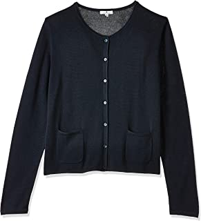 Tom Tailor Women's Classical Regular Round Collar Long Sleeve Cardigan