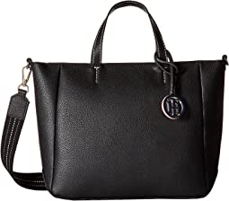TH Web Top Zip Tote Double