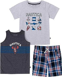 Nautica baby-boys 3 Pieces Shorts Set