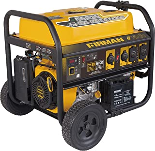 Firman P05703 7100/5700 Watt 120/240V Remote Start Gas Portable Generator cETL Certified, Pest Repeller Model BH-2 Ver.214, Black