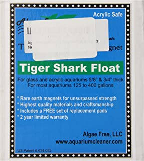AlgaeFree Tigershark Plus Floating Aquarium Cleaner Magnet