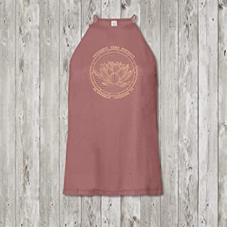 Preserve Your Harmony Ladies High Neck Yoga Tank