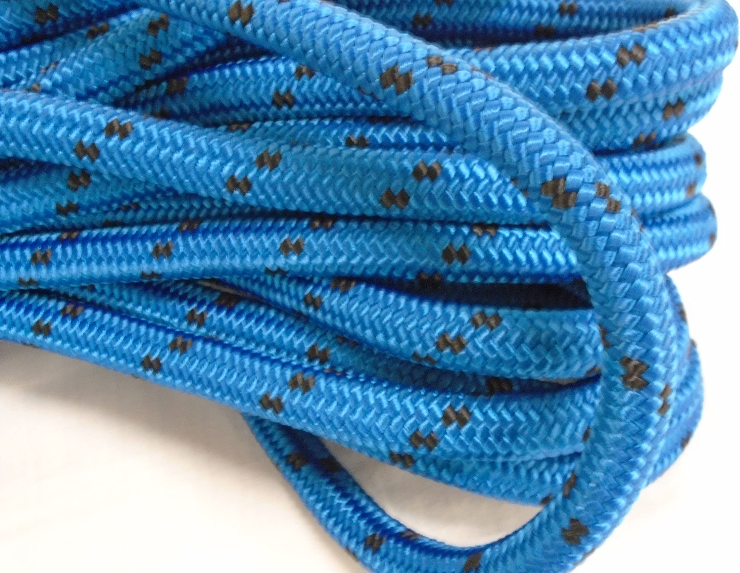 "Rigging Line Arborist Bull Rope NEW 5//8/"" x 150/' Double Braid Rope Hoist Line"