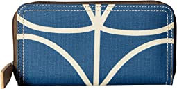 Orla Kiely - Giant Linear Stem Big Zip Wallet