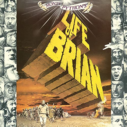 Prophets From Life Of Brian Original Motion Picture Soundtrack By Monty Python Graham Chapman John Cleese Terry Gilliam Eric Idle Terry Jones Michael Palin On Amazon