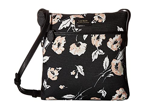 LAUREN Ralph Lauren Chadwick Crossbody Medium Black Floral Multi Cheap Countdown Package Reliable For Sale s7UxbkFt
