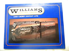 1989 Williams Electric Trains O Gauge Crown Edition Color Catalog