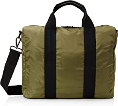 Fred Perry Men's Sports Nylon Work Bag, Olive, ONE SIZE