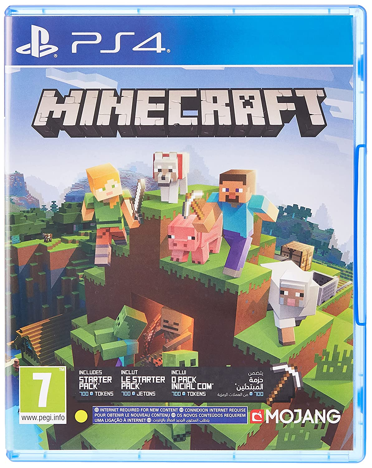 Minecraft - Bedrock Edition PS4 [video game]