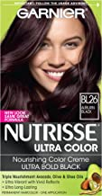Garnier Nutrisse Ultra Color Nourishing Hair Color Creme, BL26 Auburn Black (Packaging May Vary)