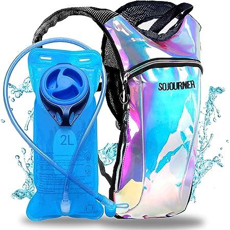 bolsa de agua a prueba de fugas Bolsa de hidrataci/ón dep/ósito de agua libre de BPA para mochila de hidrataci/ón