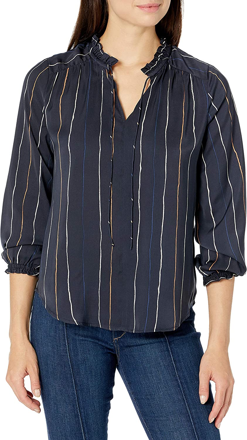 NIC+ZOE Women's Waterfall Super popular specialty store Clearance SALE Limited time Blouse