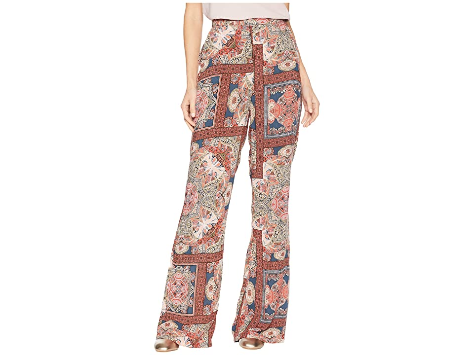 BCBGeneration Fit and Flare Pants (Orange Spice Combo) Women