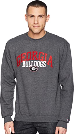 Champion College - Georgia Bulldogs Eco® Powerblend® Crew
