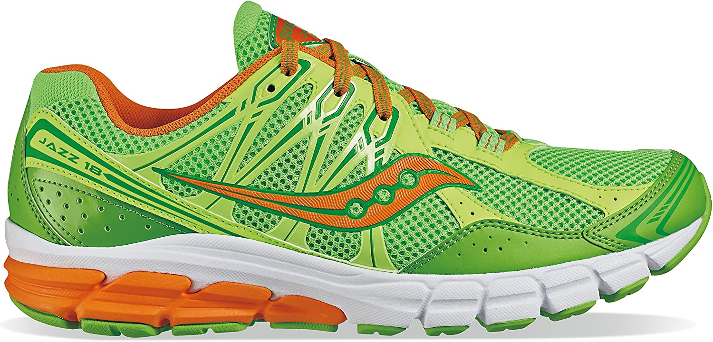 Saucony Jazz 18 Running shoes Slime Citron orange