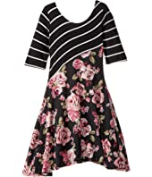 fiveloaves twofish - Dance with Me Skater Dress (Little Kids/Big Kids)