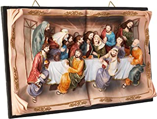 Hi-Line Gift Ltd Last Supper Wall Plaque, 16""