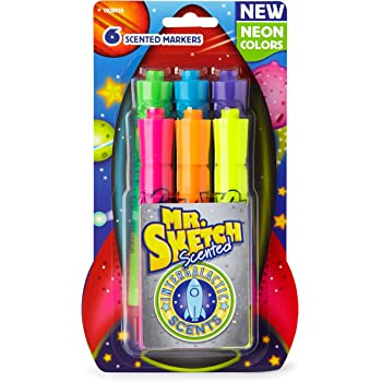Open Box Mr Sketch 1906355 Red Cherry Scented Markers Pk of 6