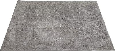 スミノエ(Suminoe) ラグ グレー 200×200cm ラビィ・フレーテ 13137263