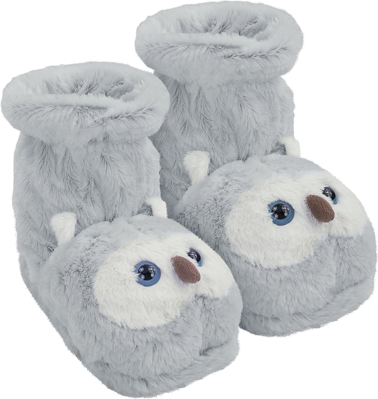 Aroma Home Fun For Feet Slipper Socks Snowy Owl