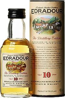 Edradour 10 Jahre Highland Single Malt | Whisky | 1x0.05L | Schottland | Reifung in Sherry-Fässern | Aus der legendären Edradour Destillerie | Mild
