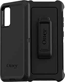 OtterBox Defender Series Case for Samsung Galaxy S20, Rugged Protection - Black (77-64475)