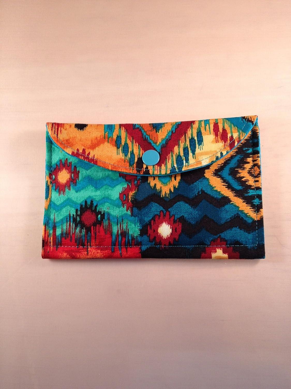 Clutch Dallas Mall Wallet Medium Aztec Fees free!! Gift Holder Card
