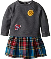 Burberry Kids - Mini Francine Sweater Top Check Skirt Dress (Infant/Toddler)