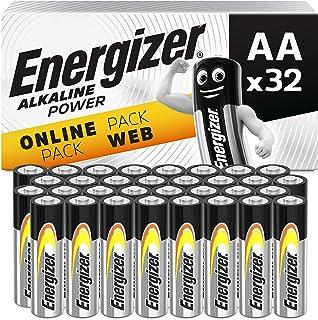 Energizer Batterien AA, Alkaline Power, 32 Stück