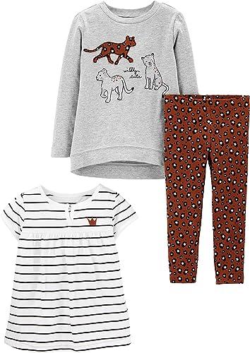 Simple Joys by Carter's Toddler 3-Piece Playwear Set