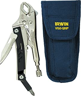 """IRWIN VISE-GRIP Locking Multi-Pliers with Pouch, Curved Jaw, 5"""", 1923492"""