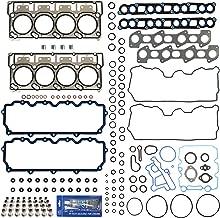 New Cylinder Head Gasket Set w/ Fel-Pro PermaTorque MLS Head Gaskets (18mm) & RTV Silicone for Ford 6.0L Power Stroke Diesel Turbo F-250 F-350 F-450 F-550 E350 E450 Super Duty 03-10