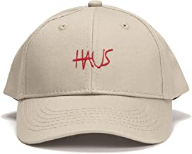 HAUS OF JR Skylar Script Snapback Hat (Creme)-Unisex