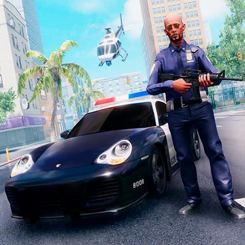 Urban Crime Stadt Polizei Van Chase Abenteuer: Vegas City Criminal Mafia Gangster Angriff Überleben Simulator Mission 3D Freies Spiel für Kinder