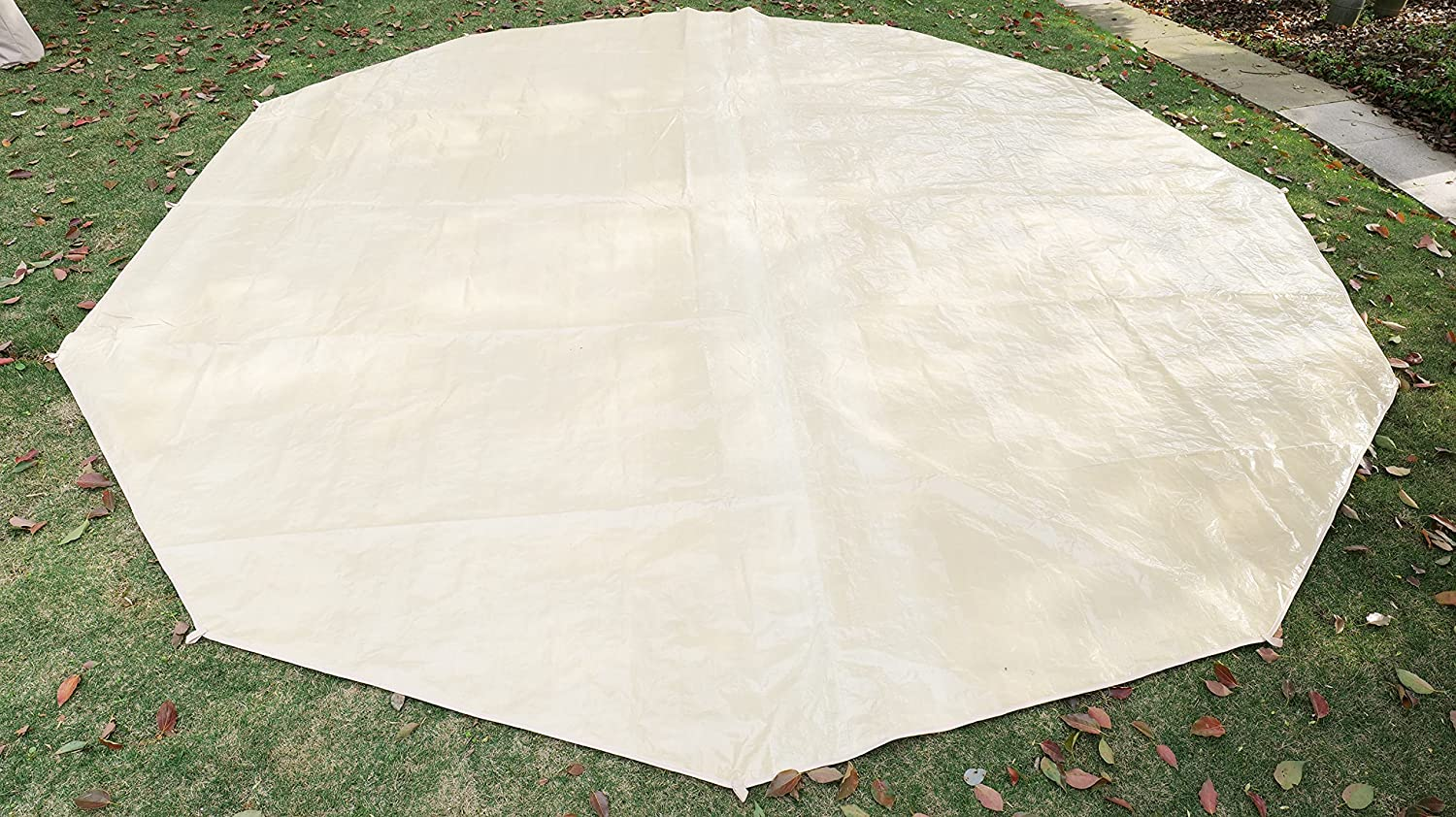 glamcamp Tent Footprint Ground Cloth Mat Super-cheap Round Picnic Waterproof Daily bargain sale