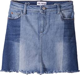 DL1961 Kids - Jenny Two-Toned Denim Skirt in Hollywood (Big Kids)