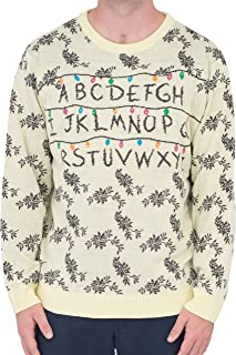 stranger things light up sweater