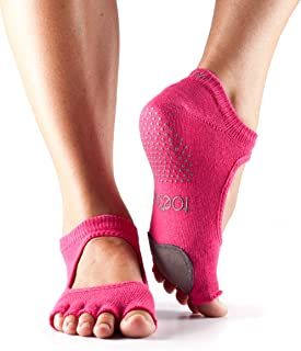 Toesox Fuchsia Sport Socks For Women, Fuchsia, XS