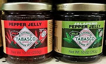 Tabasco Pepper Jelly Variety Pack 10 oz (Pack of 2)