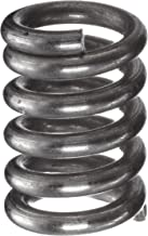 Compression Spring, Stainless Steel, Metric, 3 mm OD, 0.5 mm Wire Size, 8.99 mm Compressed Length, 12 mm Free Length, 8.67 N Load Capacity, 2.72 N/mm Spring Rate (Pack of 10)