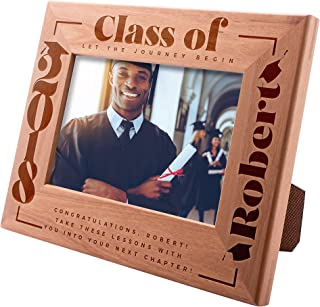 Class of 2019 Personalized Picture Frames for Graduation Gifts, Congrads Let The Journey Begin - Class of 2019 - Gift for High School or College Graduate Gift