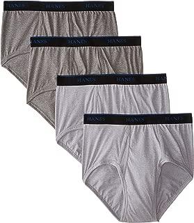 Hanes Men's CBBFB4 4-pack Freshiq Comfort Blend Brief