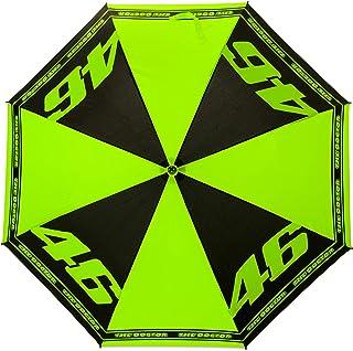 Valentino Rossi Colección VR46 Classic, paraguas unisex, negro, única