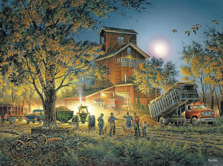 Terry Redlin  Bountiful Harvest  1000 Piece Jigsaw Puzzle