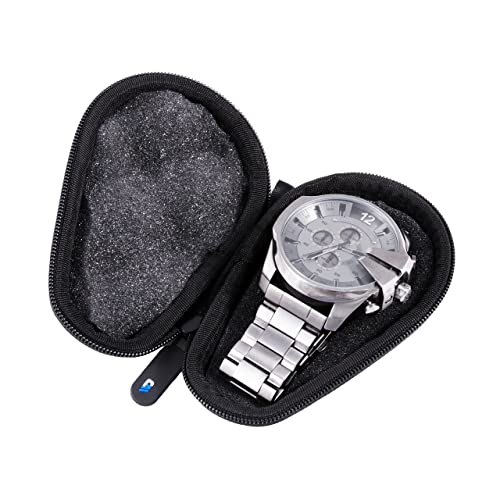 Watch Box Protective Watch Case for Stainless Steel Metal Band Mens and Womens Watches - Up