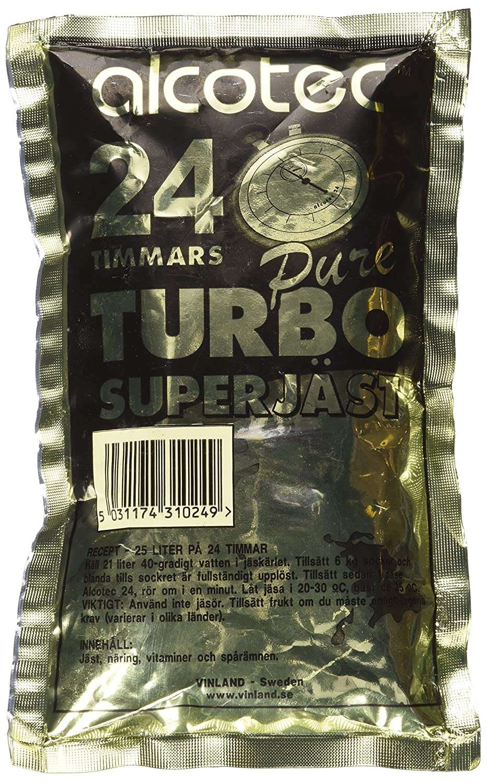 Alcotec 24-hour Turbo 205 Price reduction Ranking TOP12 Yeast grams