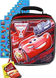 Kid's Soft Rectangular Insulated Lunch Bag … (RED Lightning McQueen)
