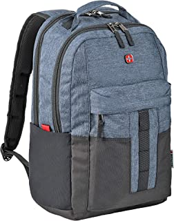 """Wenger 601688 ERO 16"""" Laptop Backpack, Padded Laptop Compartment with Tablet Pocket in Blue {20 litres}"""